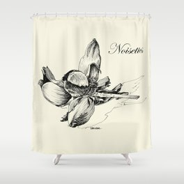 Hazelnuts Shower Curtain