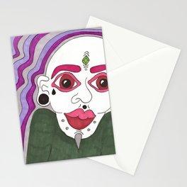 mod man Stationery Cards