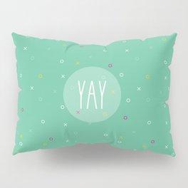 YAY Noughts + Crosses Pillow Sham