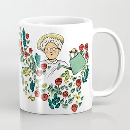 The murder at the vicarage Coffee Mug