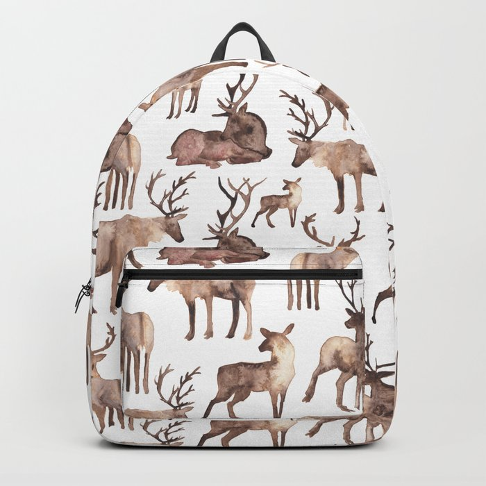 Christmas Reindeer.  Backpack