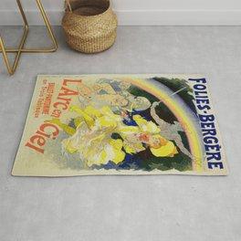 Vintage poster - The Rainbow Rug