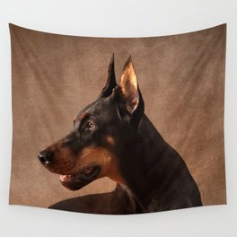 Dobermann - Doberman Pinscher Wall Tapestry