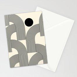 Abstraction_SUNLIGHT_SUNSHINE_LINE_POP_ART_Minimalism_001A Stationery Cards