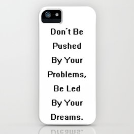 Proverb I iPhone Case
