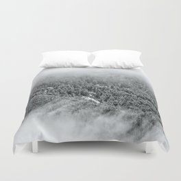 Misty Forest Duvet Cover