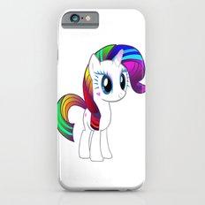 Happy Unicorn in the Spring Slim Case iPhone 6s