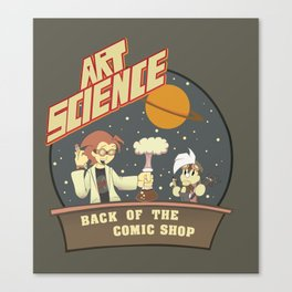 Art Science Canvas Print