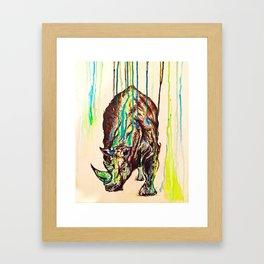 The end. Framed Art Print