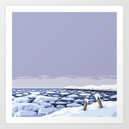 Landscape XXXVIII Art Print