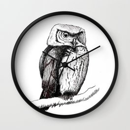 The Owl Wall Clock