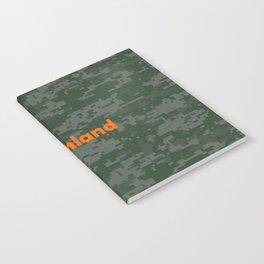 Northland Camo Notebook
