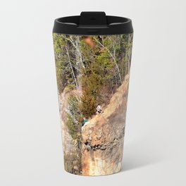 Climbing Up Sparrowhawk Mountain above the Illinois River, No. 3 of 8 Travel Mug