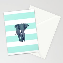 The Green Elephant Stationery Cards