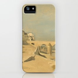 "Jean-Baptiste-Camille Corot ""Bridge on the Saône River at Mâcon"" iPhone Case"