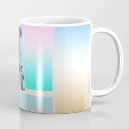 Retro Space Man Coffee Mug