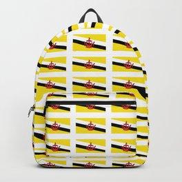 flag of brunei-jawi,borneo,bandar,malay,bruneian. Backpack