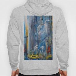 Rain in the city Hoody