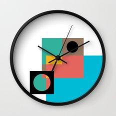 Geometric Crazy 1 Wall Clock