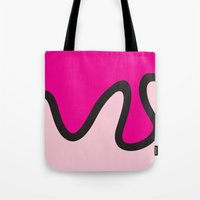 ice cream Tote Bags featuring Ice Cream by Dale J Cheetham