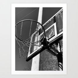 Hoop Dreams Art Print