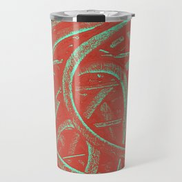 Junction - Red and Green Travel Mug