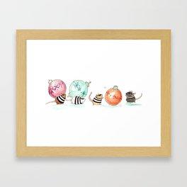 Ornament Heist Framed Art Print