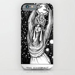 The Hierophant Tarot iPhone Case