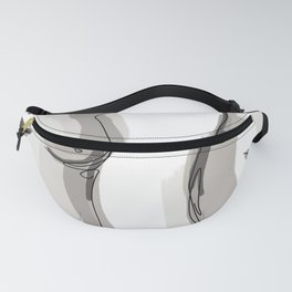 Nude Belly Fanny Pack