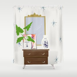 Star quality Shower Curtain