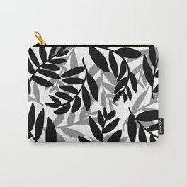 The Black Leaves Carry-All Pouch