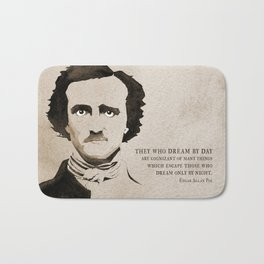 Poe Dream by Day Bath Mat