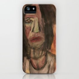The Hungry Eyes iPhone Case