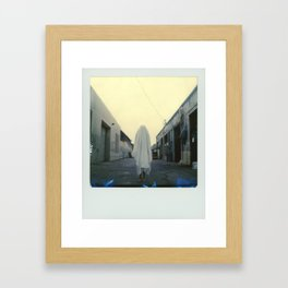 Ghost in the City Framed Art Print