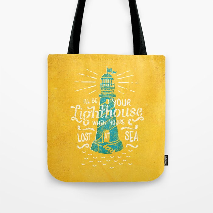 Lost At Sea II. Tote Bag