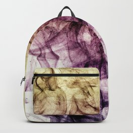 Beautiful Purple Brown Smoky Dust Backpack
