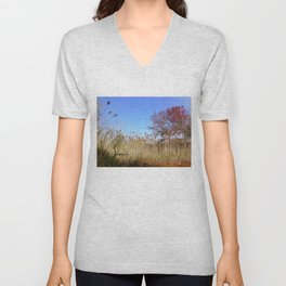 River View Unisex V-Neck