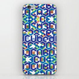 Cubed Balance iPhone Skin