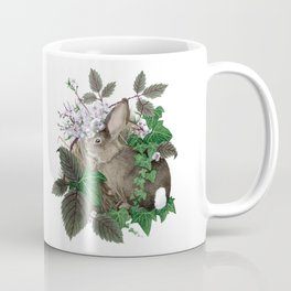 Brush Bunny Coffee Mug