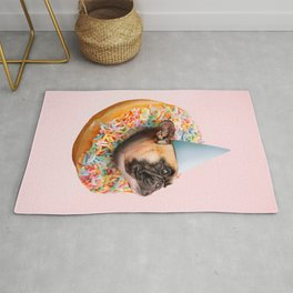 Dog Party Donut Rug