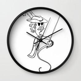 Musketeer Sperm Wall Clock