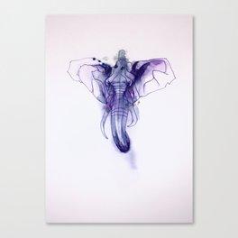 Elephant Emperor Canvas Print