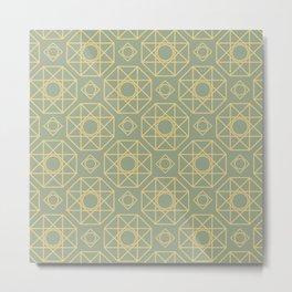 Octogonal Metal Print