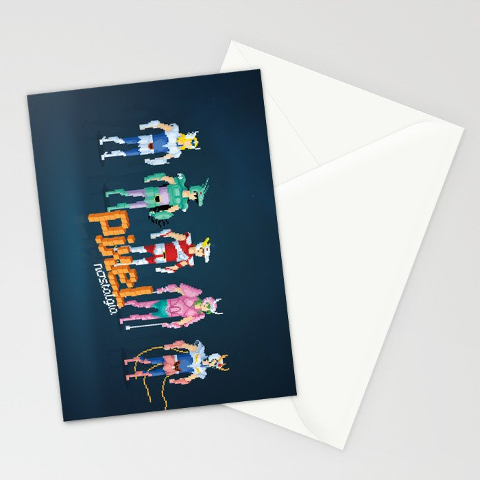 Saint Seiya - Pixel Nostalgia Stationery Cards