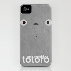 My neighbor Totoro  Slim Case iPhone (4, 4s)