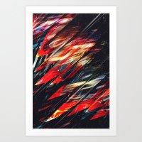 blade runner Art Prints featuring Blade runner by Kardiak