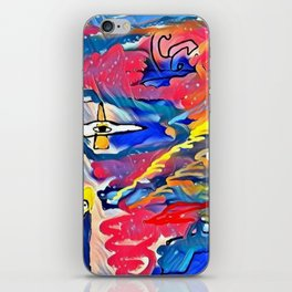 The power in unstable balance iPhone Skin