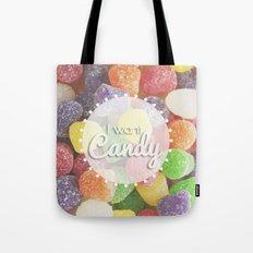 I Want Candy: Gumdrops Tote Bag