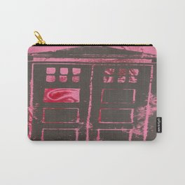 pink tardis Carry-All Pouch