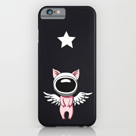 Piglet in Space iPhone & iPod Case